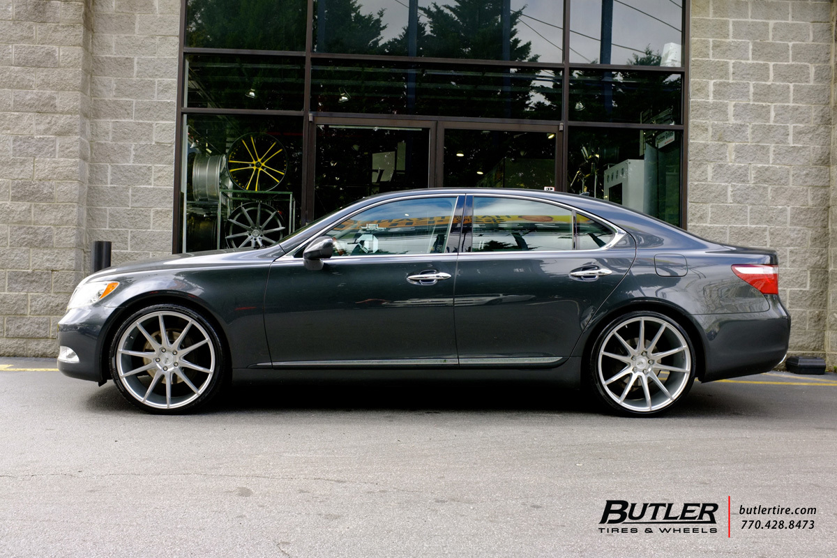 Lexus Ls460 With 22in Savini Bm12 Wheels Exclusively From