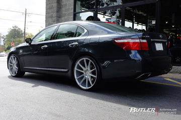 Lexus LS460 with 22in Savini BM12 Wheels