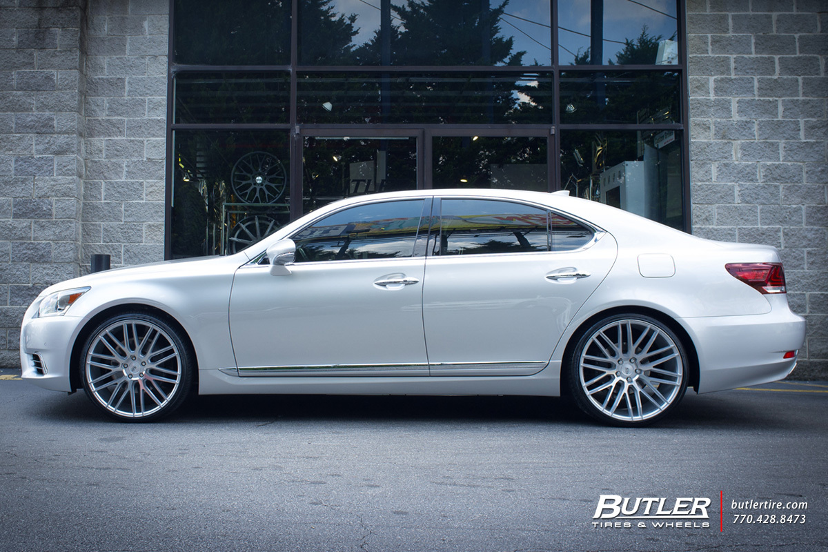 Lexus Ls460 With 22in Savini Bm13 Wheels Exclusively From