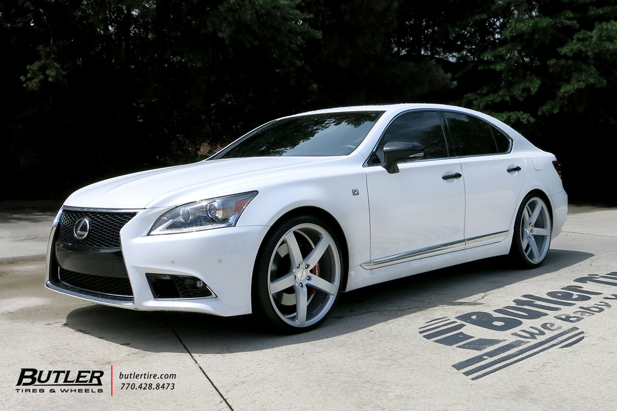 Audi Of Atlanta >> Lexus LS460 with 22in Vossen CV3-R Wheels exclusively from Butler Tires and Wheels in Atlanta ...