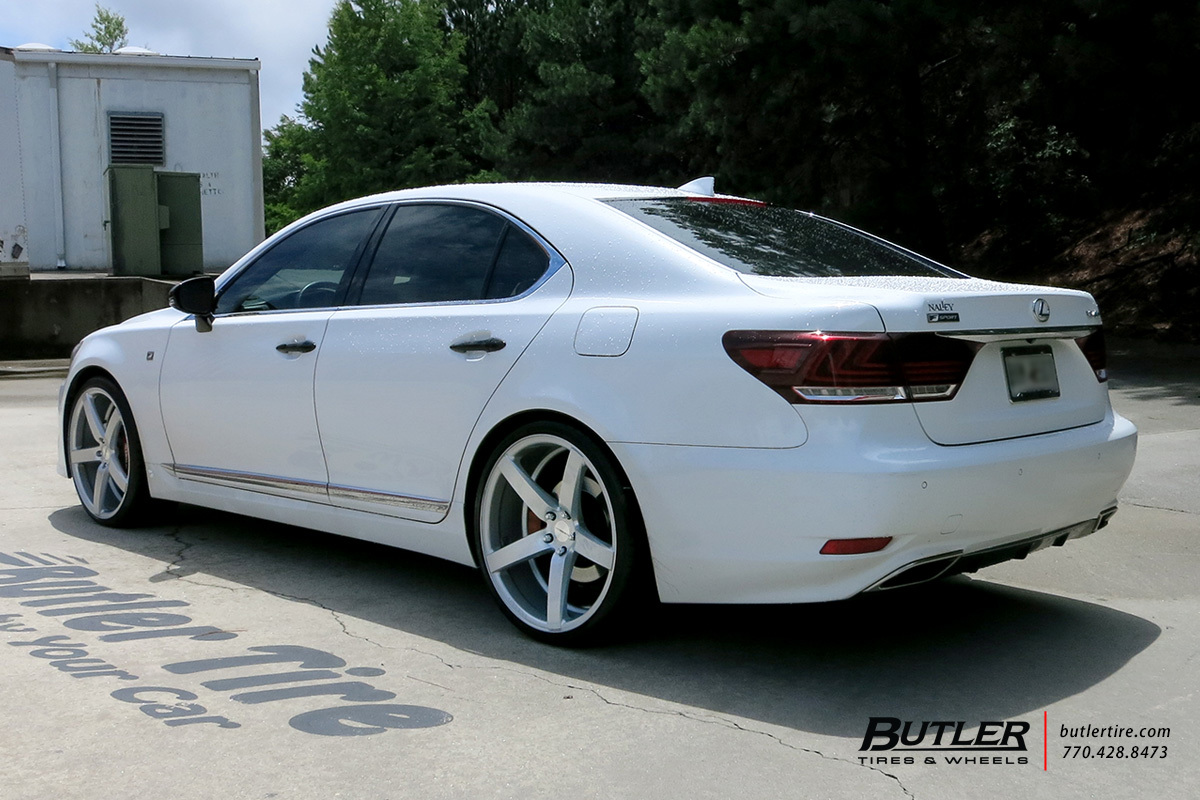 Lexus Ls460 With 22in Vossen Cv3 R Wheels Exclusively From