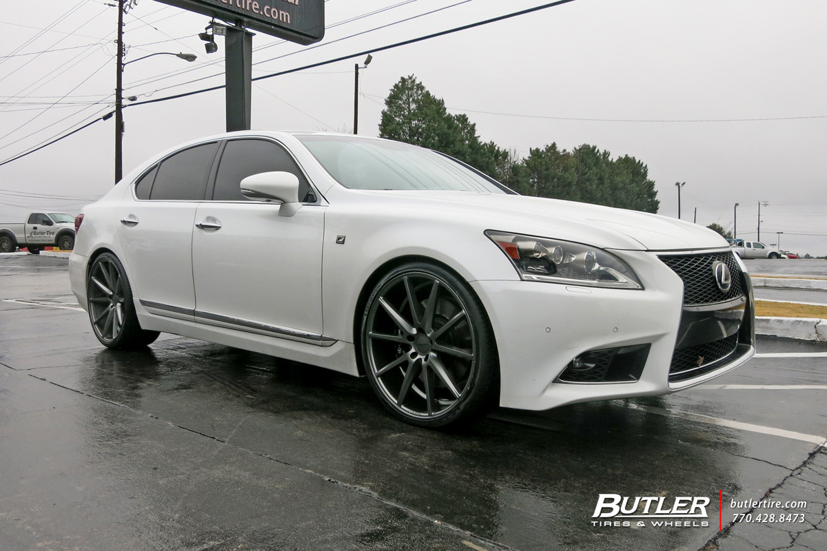 Lexus LS460 with 22in Vossen VFS1 Wheels exclusively from ...