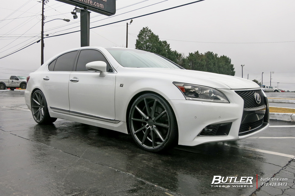Lexus Ls460 With 22in Vossen Vfs1 Wheels Exclusively From