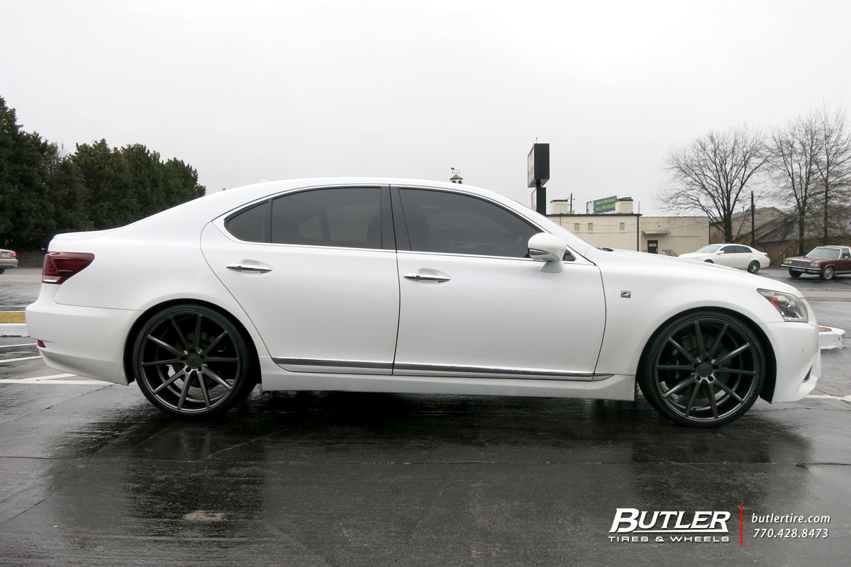 Volvo Of Marietta >> Lexus LS460 with 22in Vossen VFS1 Wheels exclusively from Butler Tires and Wheels in Atlanta, GA ...