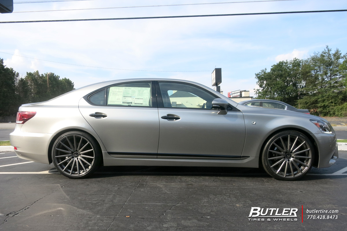 Lexus Ls460 With 22in Vossen Vfs2 Wheels Exclusively From