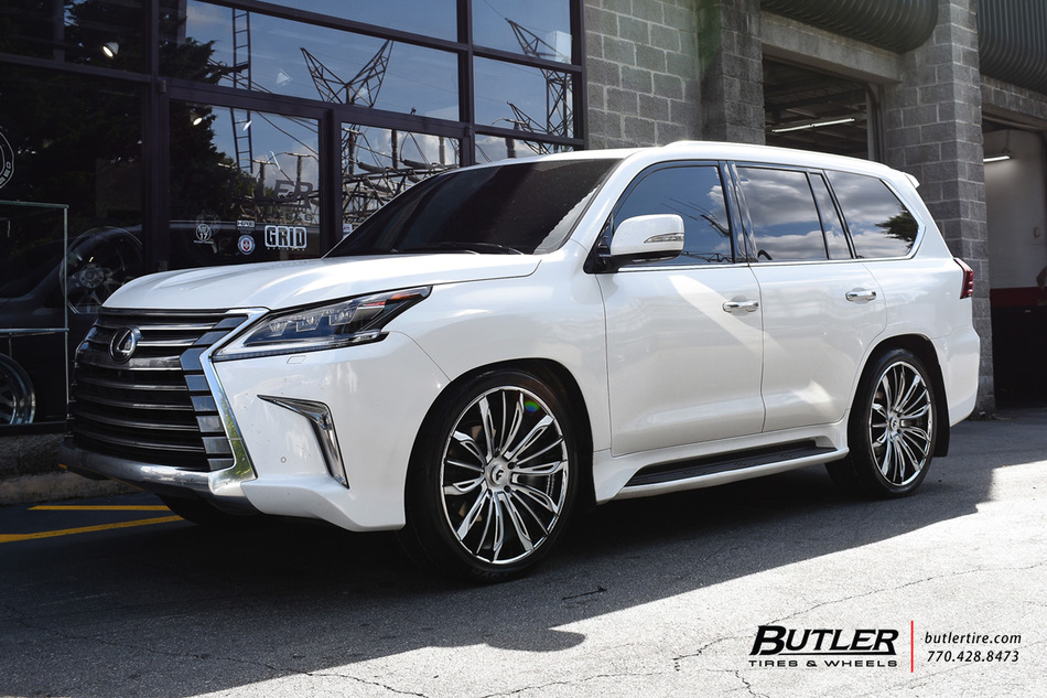 Can Am Car >> Lexus LX with 24in Forgiato Montare ECL Wheels exclusively ...