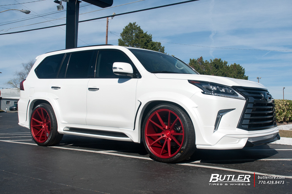 Lexus Lx With 24in Vossen Vps 301 Wheels Exclusively From