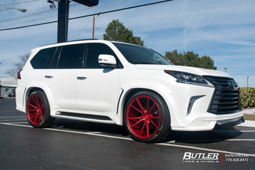 Lexus LX with 24in Vossen VPS-301 Wheels