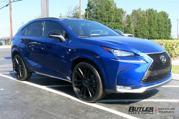 Lexus NX with 22in TSW Gatsby Wheels