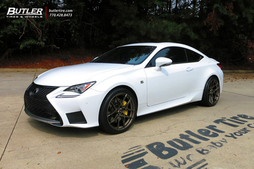 Lexus RC with 20in Savini SV-F5 Wheels