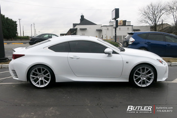 Lexus RC with 20in Vossen VFS6 Wheels