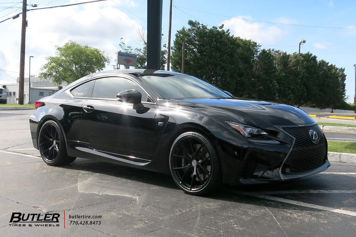 Lexus RCF with 20in HRE P101 Wheels