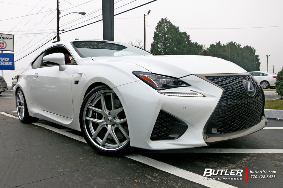 Lexus Rcf With 20in Tsw Portier Wheels Exclusively From