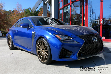 Lexus RCF with 20in Vossen VFS2 Wheels