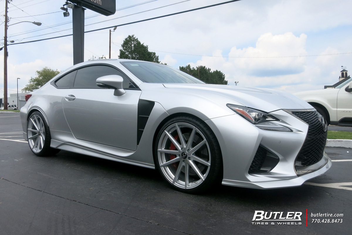 Lexus Rcf With 21in Tsw Bathurst Wheels Exclusively From