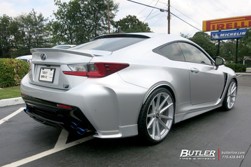 Lexus RCF with 21in TSW Bathurst Wheels