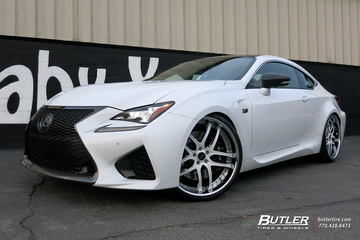 Lexus RCF with 22in Savini BS2 Wheels
