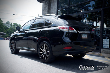 Lexus RX with 20in Lexani CSS15 Wheels