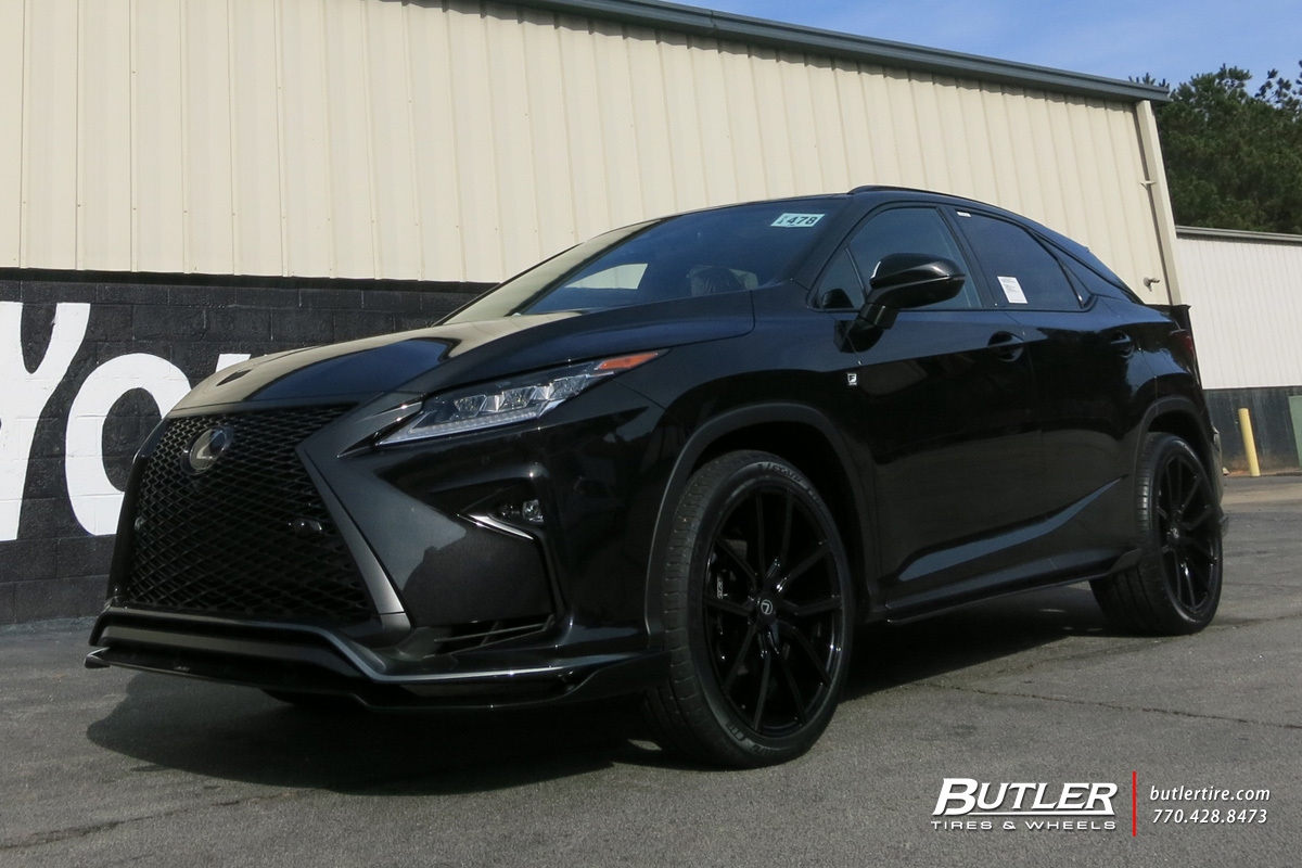 Lexus Rx With 22in Lexani Gravity Wheels Exclusively From