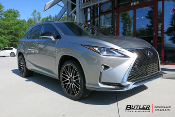 Lexus RX with 22in Savini BM13 Wheels