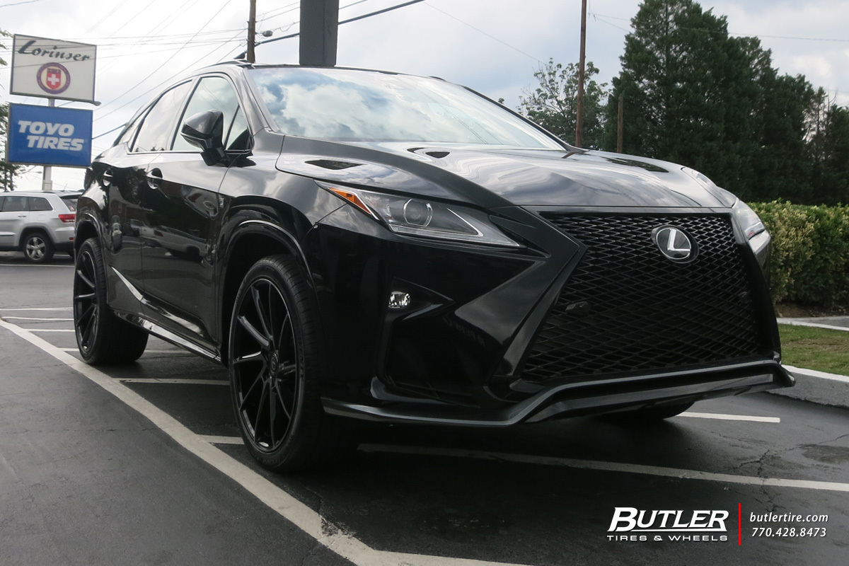 lexus rx with 22in savini bm15 wheels exclusively from. Black Bedroom Furniture Sets. Home Design Ideas