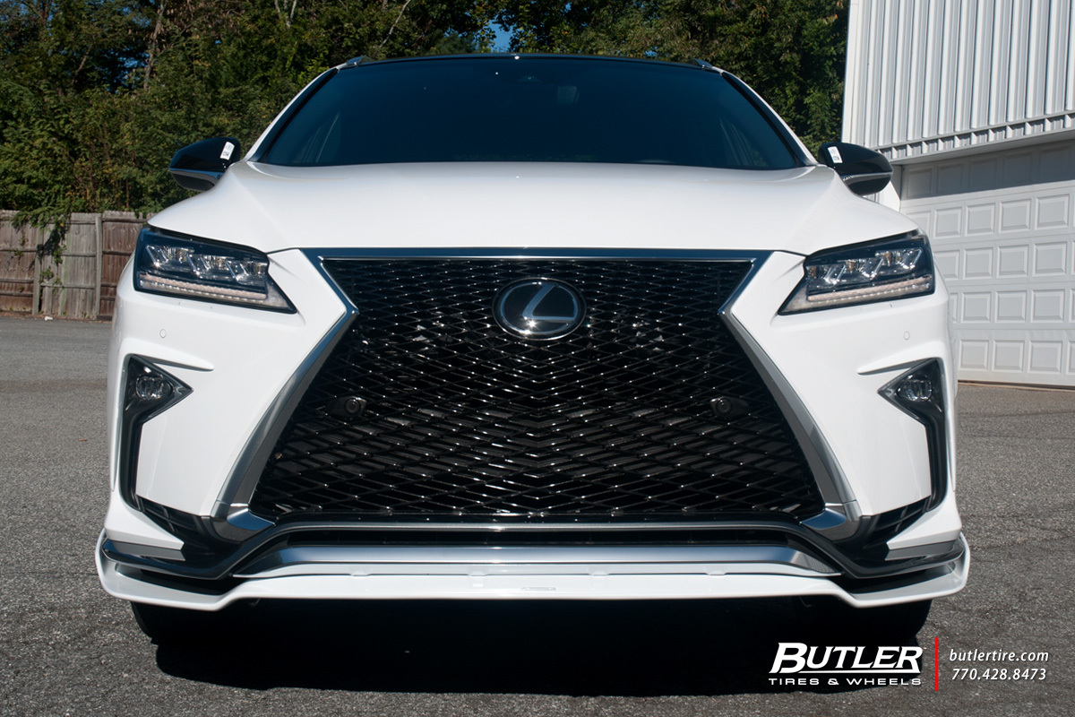 Lexus RX with 22in Vossen CVT Wheels