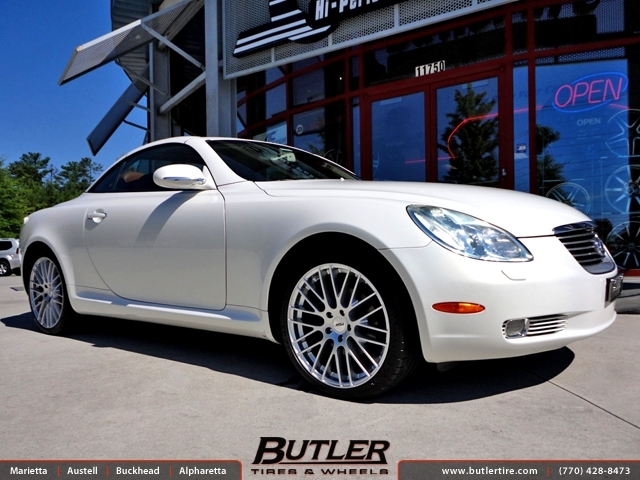 Lexus SC with 19in TSW Max Wheels
