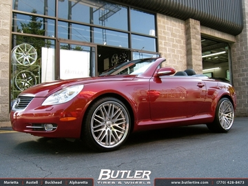 Lexus SC with 20in Lexani CVX 44 Wheels