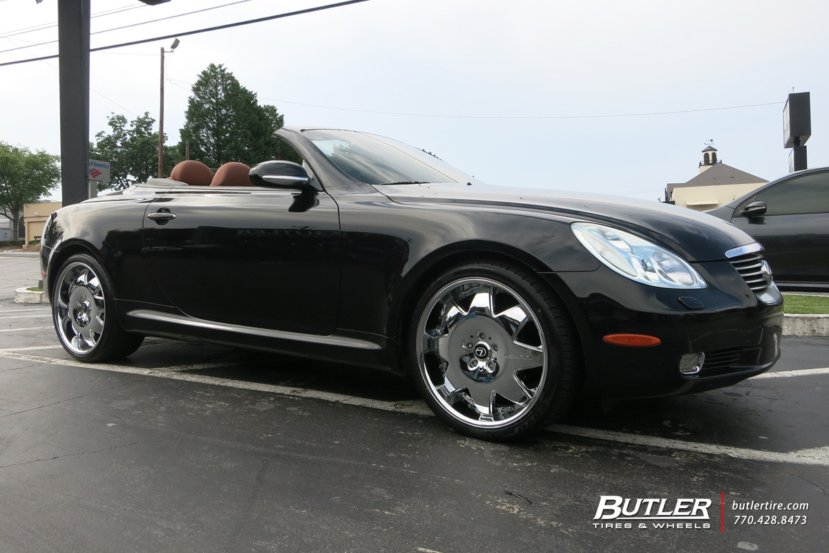 lexus sc with 20in lexani lx2 wheels exclusively from. Black Bedroom Furniture Sets. Home Design Ideas