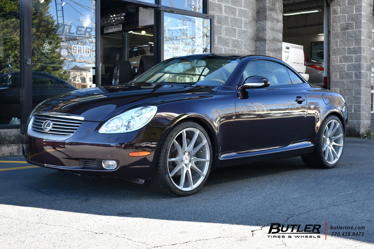 Lexus SC with 20in Savini BM12 Wheels