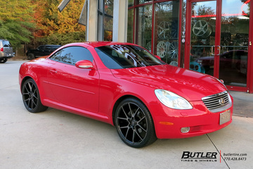 Lexus SC with 20in Savini BM14 Wheels