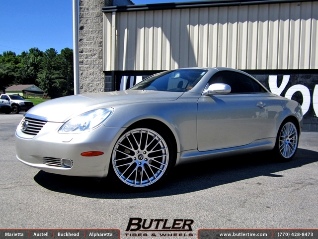 Lexus SC with 20in TSW Max Wheels