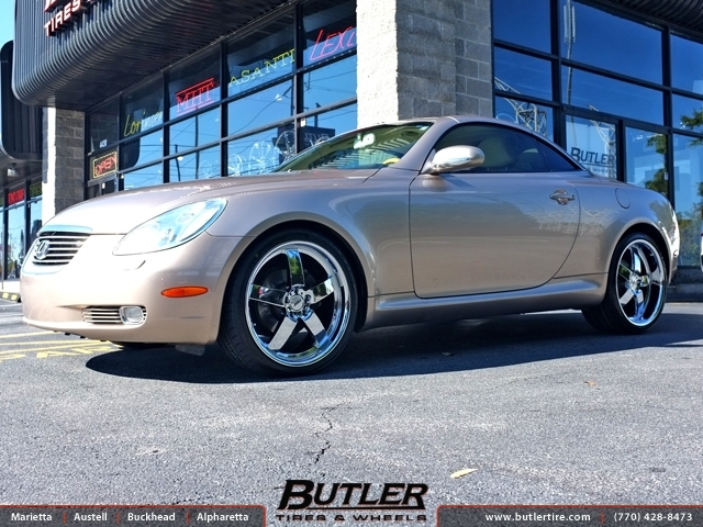Mercedes Benz Of Buckhead >> Lexus SC with 20in TSW Rockingham Wheels exclusively from ...