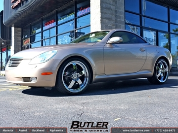 Lexus SC with 20in TSW Rockingham Wheels
