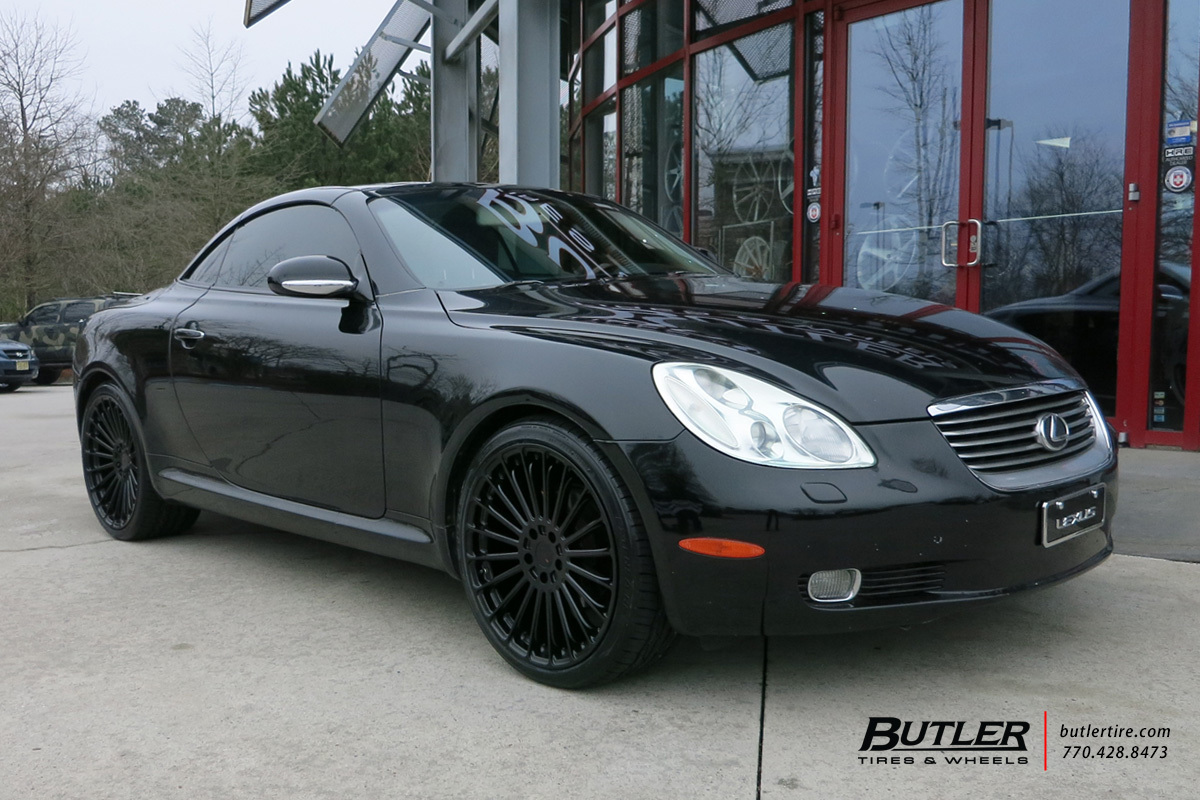 Lexus SC with 20in TSW Turbina Wheels