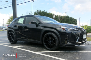 Lexus UX with 21in Savini BM14 Wheels