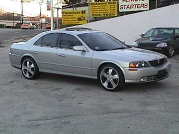 Lincoln LS with 20in TSW S5 Wheels