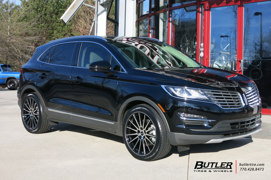 Lincoln MKC with 20in TSW Chicane Wheels exclusively from ...