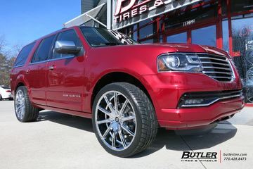 Lincoln Navigator with 24in Lexani CSS15 Wheels