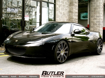 Lotus Evora with 20in Savini SM7 Wheels