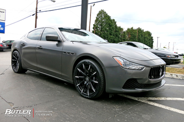 Maserati Ghibli with 20in Lexani CSS15 Wheels