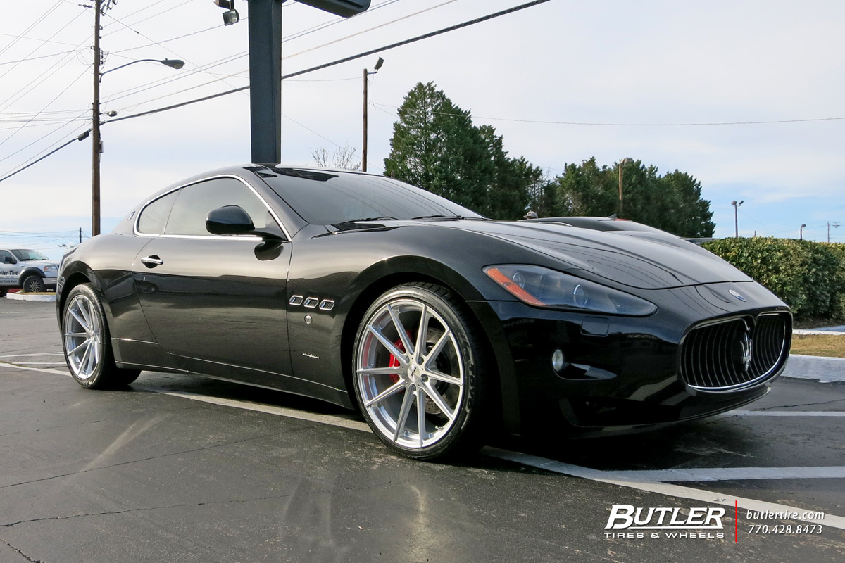 Maserati Granturismo With 20in Tsw Bathurst Wheels