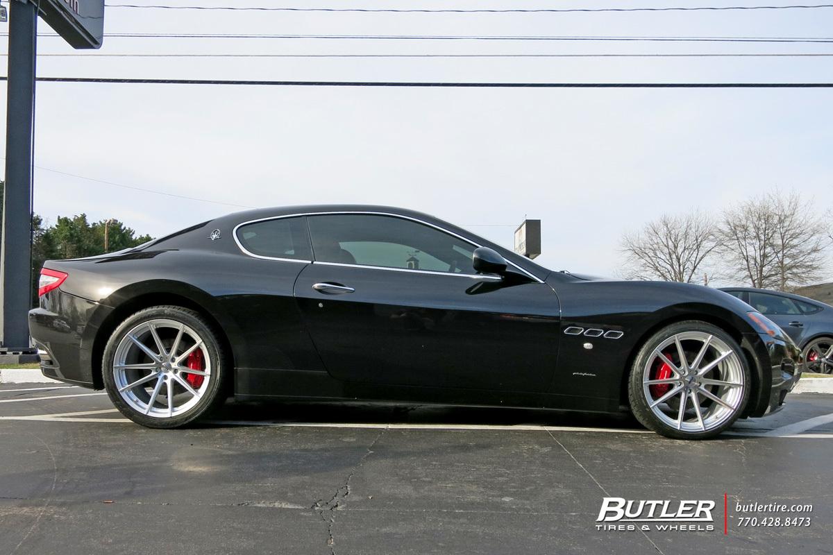 Maserati Granturismo With 20in Tsw Bathurst Wheels