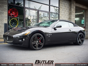 Maserati Granturismo with 21in Vellano VM09 Wheels