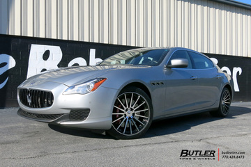 Maserati Quattroporte with 20in TSW Chicane Wheels