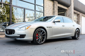 Maserati Quattroporte with 20in Vossen CVT Wheels