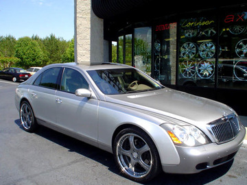 Maybach 57S with 22in Autocouture Savage Wheels