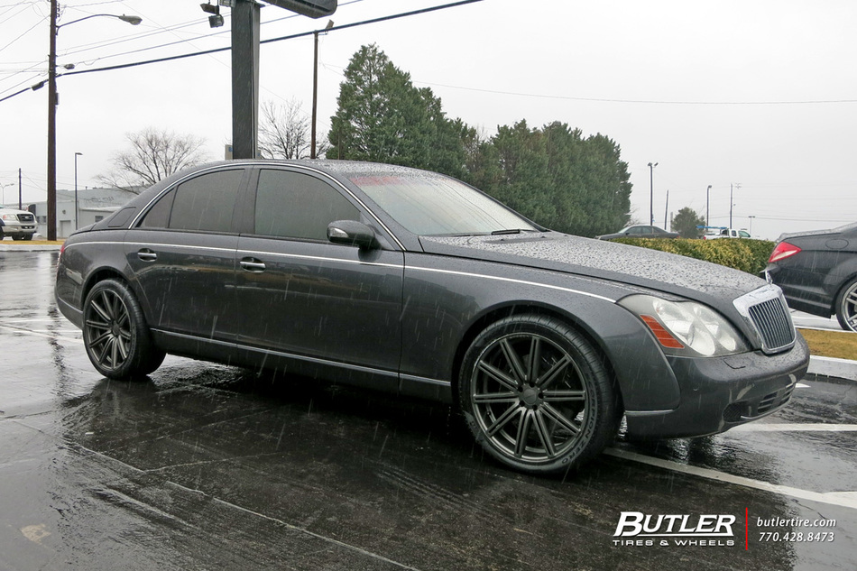 Maybach 57s With 22in Vossen Cv4 Wheels Exclusively From
