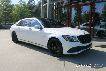 Maybach S650 with 20in Avant Garde M615 Wheels