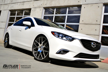 Mazda 6 with 21 TSW Nurburgring Wheels